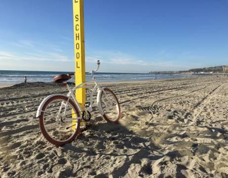 A beach cruiser finally designed to survive beach bike life.