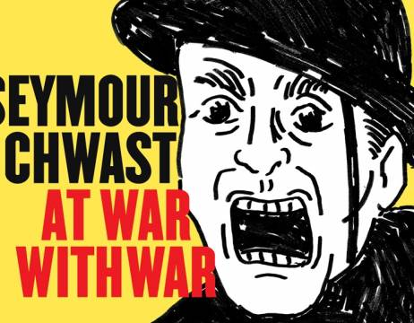 New Seymour Chwast Book Protests 5,000 Years of War