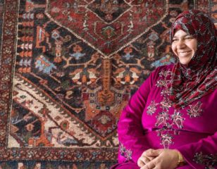 Empowering Syrian Refugees With Handcrafted Heirloom Rugs