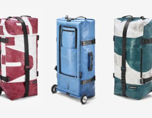 ZIPPELIN: An inflatable, one-of-a-kind travel bag by FREITAG
